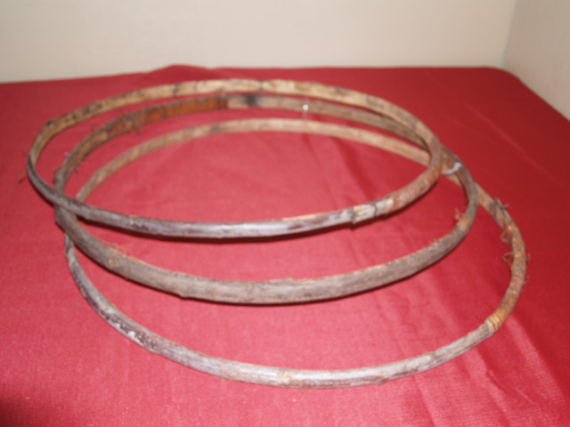 Barrel Willow Hoops (set of 3)