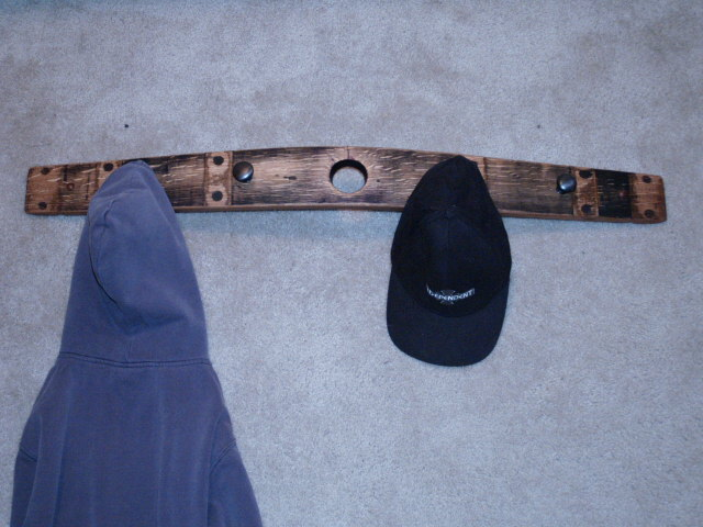Bung Whole Stave Hat and Coat Rack