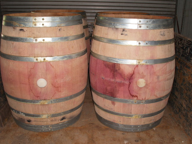 Whole Used Wine Barrels