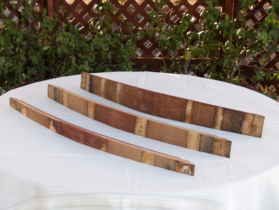 "Barrel Staves (Medium 2"" - 3"")"