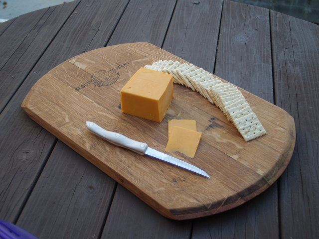 Oval Cheese and Bread Board